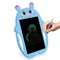 HONGKIT Doodle Pad for 2 Year Old Kids,LCD Writing Tablet Drawing Board Preshcool Learning Toys for 3 Years Olds Birthday Gift for 1-5 Year Old boy 2020 Newest Toys Bunny Blue
