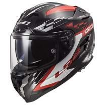 LS2 Helmets Challenger GT Full Face Street Helmet (GP Red/Black - Medium)