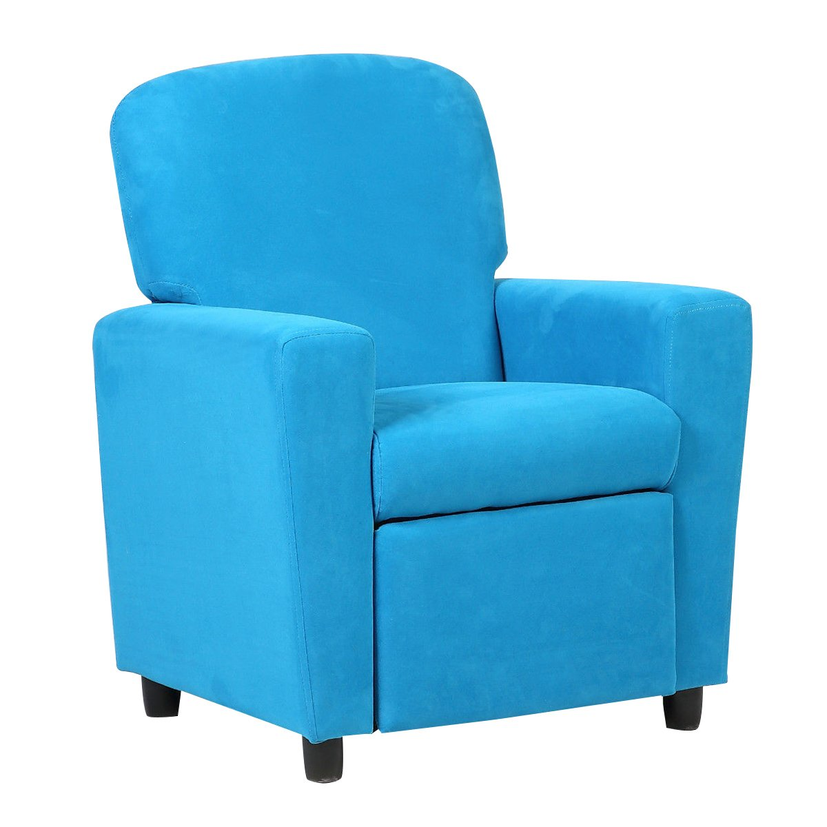 Costzon Kids Recliner Sofa Chair Children Reclining Seat Couch Room Furniture (Blue)