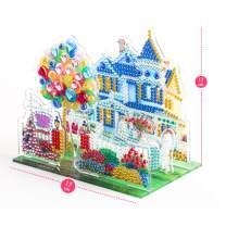 JasmyGirls Diamond Painting Kits for Kids Full Drill Paint by Number Kit for Childrens Gift Diamond Dotz Art Craft Decor for Boy Girl Bedroom