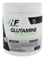 NF Sports Glutamine –Amino Acid for High Intensity Exercise & Recovery an All-Natural Research-Proven Form of Glutamine Most Abundant Free Form Amino Acid -100% Satisfaction Guaranteed - 60 Servings