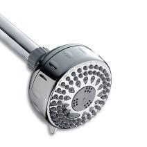 Waterpik Shower Head 5 Mode, 2.5 GPM Power Spray, Chrome, TRS 523