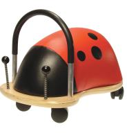 Prince Lionheart Wheely Bug, Ladybug, Large, Child Ride-On Toy, Multi-Directional Casters, Helps Promote Gross Motor Skills and Balance