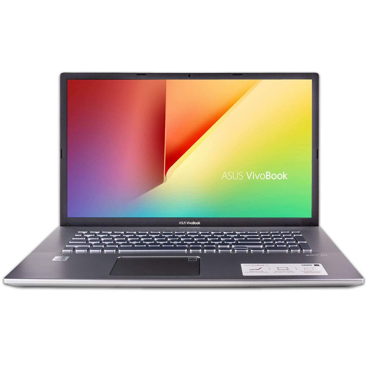 "CUK ASUS VivoBook S17 Thin and Light Laptop (Intel i7-10510U, 24GB RAM, 512GB NVMe SSD + 1TB HDD, 17.3"" Full HD, Windows 10 Home) Slim Compact Notebook Computer"