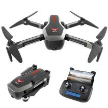 GoolRC SG906 GPS RC Drone with 4K HD Front Camera and 720P Down-Looking Camera, 5G WiFi FPV Foldable Brushless Drone, Optical Flow Positioning Altitude Hold RC Quadcopter