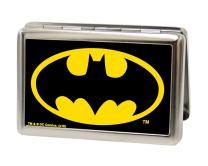 Buckle-Down Metal Wallet-Batman Fcg Black/Yellow