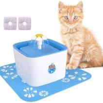Pet Fountain Filters, 8 Packs Cat Fountain Replacement Filter, Carbon Replacement Filter for 84oz/2.5L Automatic Pet Fountain Cat Water Fountain Dog Water Dispenser