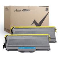 V4INK 2PK Compatible Toner Cartridge Replacement for Brother TN360 TN330 Toner Ink High Yield Black for Brother HL-2140 HL-2170W DCP 7030 7040 Brother MFC-7340 MFC-7345N MFC-7440N MFC-7840W Printer