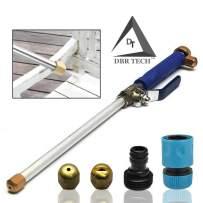 DBR Tech TM Hydro Jet High Pressure Power Washer, Pressure Washer Gun Whit Garden Hose End, Hydrojet Power Washer Nozzle (Navy Blue)