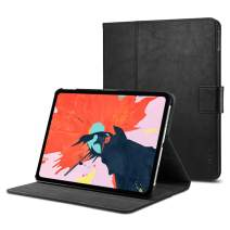 Spigen Stand Folio Designed for iPad Pro 11 Case (2018) - Black
