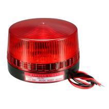 uxcell LED Warning Light Bulb Flashing Strobe Light Signal Tower Lamp DC 24V Red LTE-5061