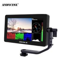 Andycine A6 Plus Touch Monitor,5.5 Inch IPS 1080P HDMI 4K in&Output LED Backlight Camera Field Monitor with 3D LUT Upgrade