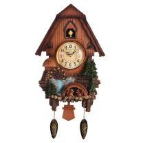 PQ Vivid Large Cuckoo Clock、Wall Cuckoo Clock,Chime Has Automatic Shut-Off [Kitchen & Home] (1)