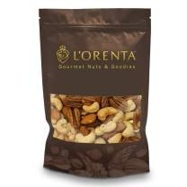 L'Orenta Deluxe Nut Mix (Mixed Nuts, 1 Pound)