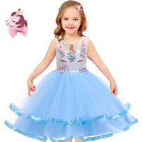 Girls Unicorn Costume Outfit Pageant Princess Party Dress Best Unicorn Gifts for Girls