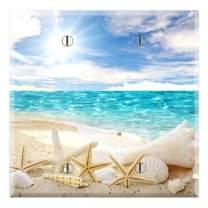 Graphics Wallplates - Seashells Ocean White Sand Beach- Two Gang Blank Wall Plate Cover