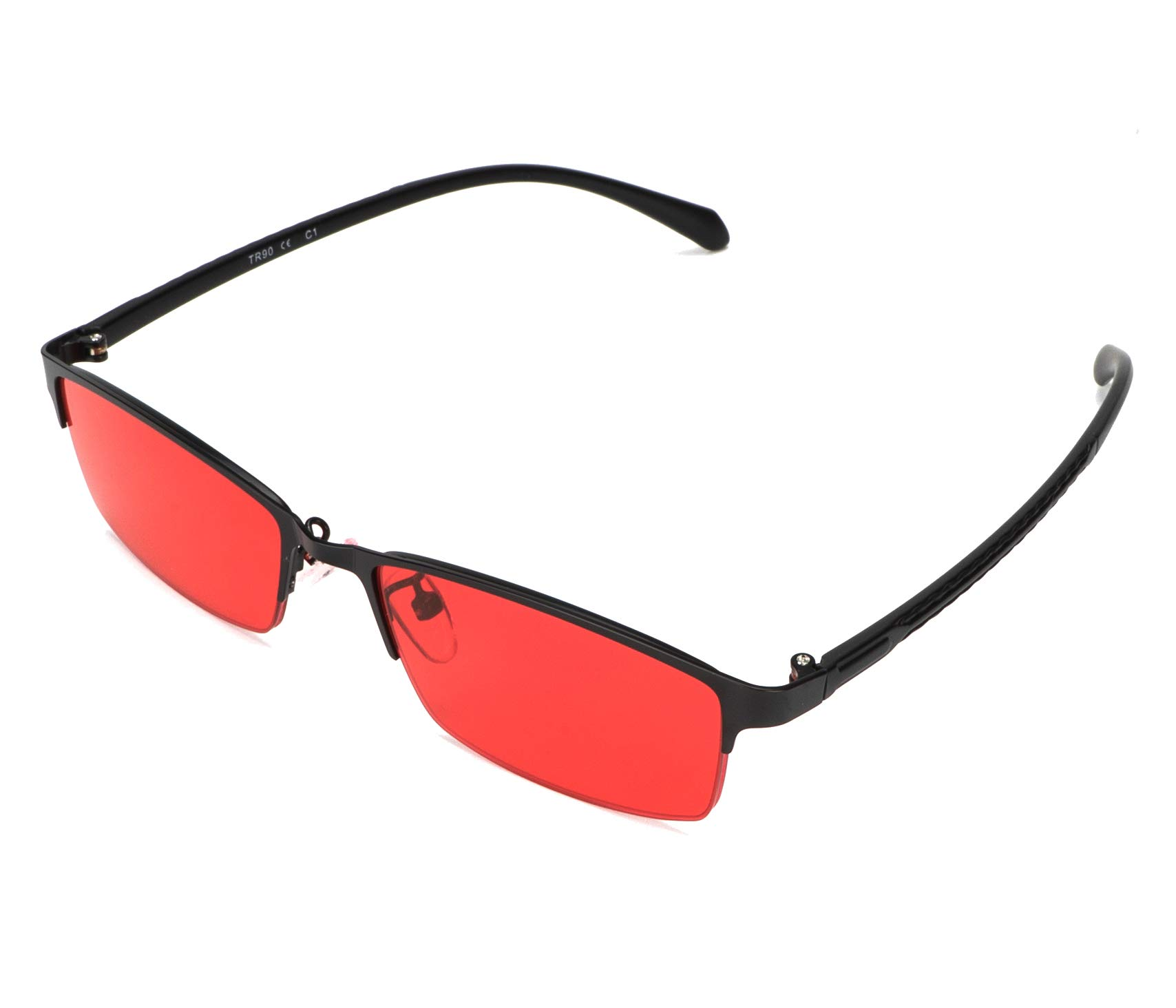 STBJ Color Blind Glasses for Men and Women with Red-Green Blindness, Color  Vision Disorder, Color Weakness (Fullframe)