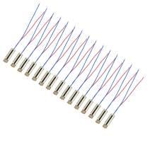 BestTong 15PCS 6mm x 14mm DC Mini Vibration Motors 1.5V 3V 14000 RPM Miniature Micro Coreless Vibrating Motor