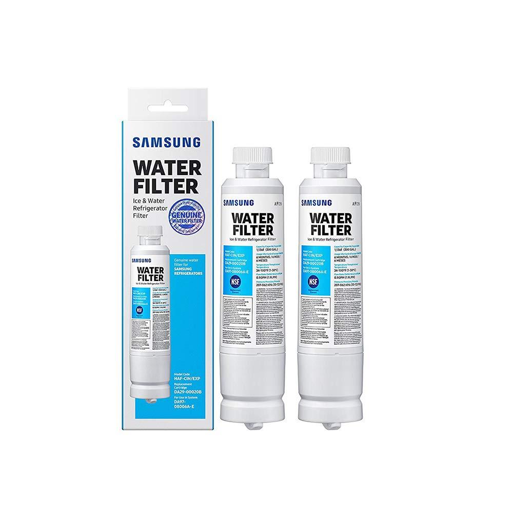 Samsung DA29-00020B HAF-CIN/EXP Refrigerator Water Filter (2 Pack)
