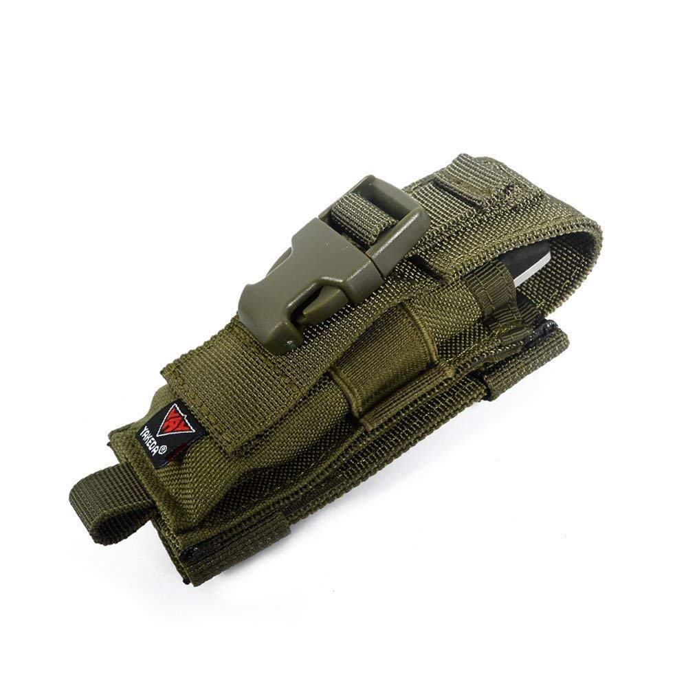 vAv YAKEDA Multitool Pouch Sheath Folding Knife Sheath Pouch for Belt Molle Flashlight Mag Pouch