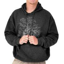 Sprouting Tree Heart Symbolic Grow Imagery Hoodie