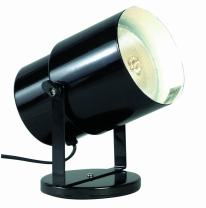 Satco SF77/394 Multi Purpose Portable Plant or Pin-Up Spot Light, Steel, Unknown, Black Finish