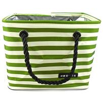 TINTON LIFE Folding Quick Dry Shower Caddy Tote Bag with Mesh Bottom Waterproof Oxford Bath Organizer Perfect for Dorm, Gym, Camping, Beach, Spa