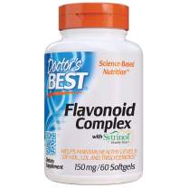 Doctor's Best Flavonoid Complex with Sytrinol, Non-GMO, Gluten Free, Helps Support Cholesterol, 60 Softgels