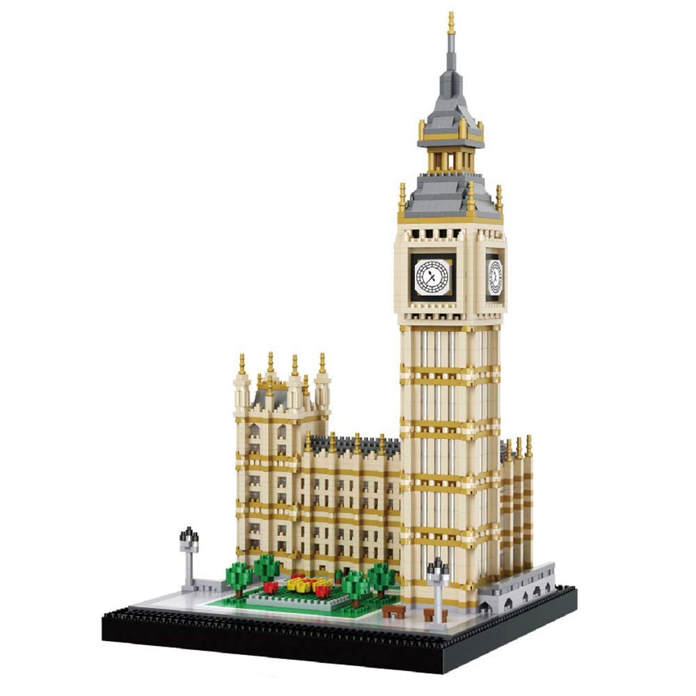 dOvOb Real Big Ben Building Blocks Set (3600PCS) - World Famous Architectural Model Toys Gifts for Kid and Adult