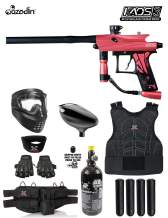 Maddog Azodin KAOS 3 Protective HPA Paintball Gun Marker Starter Package
