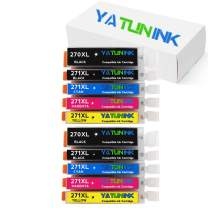 YATUNINK Compatible Ink Cartridge Replacement for Canon PGI-270XL CLI-271XL Ink Cartridges for Canon Pixma MG6820 Pixma MG6821 Pixma MG6822 Pixma MG7720 Printer (10 Pack)