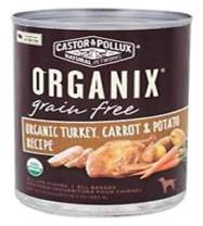 Organix, Grain Free Organic Turkey, Carrot & Potato Canned Dog Food, 12.7 oz