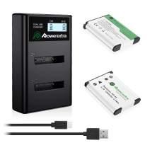 NP-45 NP-45S NP-45A 2X Battery and LCD Charger for Fujifilm INSTAX Mini 90 FinePix XP140 XP130 XP120 XP90 XP80 XP70 XP60 XP30 XP20 T560 T550 T510