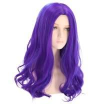 PATTNIUM Long Wavy Blue Wig Women Girls Costume Wig Anime Cosplay Wig Halloween Party Wig (Adult)