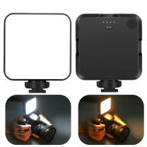 CHANONE Video Conference Lighting, 3200-5600K LED Fill Light with Mini Tripod for Laptop MacBook Remote Working, Zoom Meeting Calls, Self Broadcasting, Live Streaming and Make Up