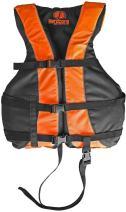 Hardcore Water Sports High Visibility Adult & Kids Life Jacket PFD USCG Type III Ski Vest w/Leg Strap