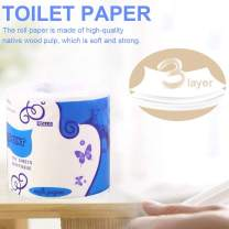 IMSHIE Toilet Tissue Paper,Ultra Comfort 3-Ply Care Toilet Paper,Silky & Smooth Soft Toilet Paper Rolls, Highly Absorbent Hand Towels for Daily Use 1/5/10 Rolls