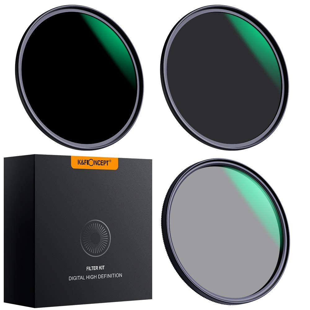 ND1000 Lens Filter Kit Gobe 37mm ND8 1Peak ND64