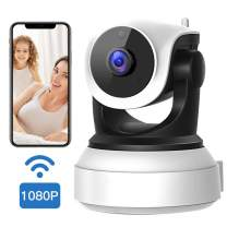 1080P WiFi Camera, VStarcam HD Wireless IP Camera with Night Vision, Motion Detection, Cloud Service, Two-Way Audio Home Security Camera for Indoor (Support Max 128G TF Card)