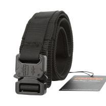 EXCELLENT ELITE SPANKER Tactical Belt Heavy Duty Adjustable Waist Belt with Quick Release Metal Buckle Waistband Nylon