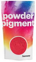 Hemway Pigment Powder Colour Luxury Ultra-Sparkle Dye Metallic Pigments for Epoxy Resin, Polyurethane Paint (Metallic Red, 100g / 3.5oz)