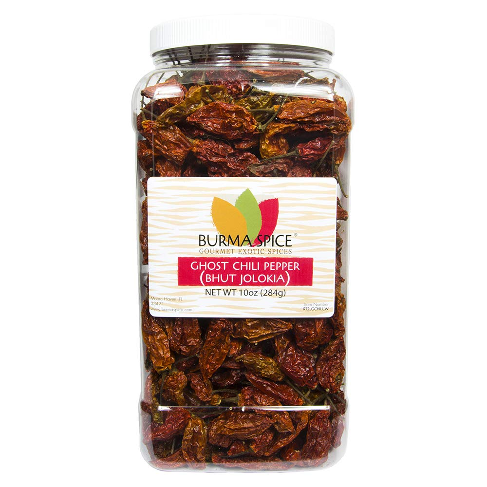 Ghost Pepper | Naga Bhut Jolokia | Ultra-Spicy 10 oz.