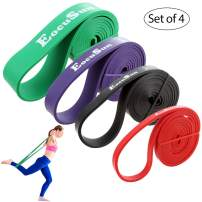 Pull Up Bands, Stretch Resistance Bands, Mobility Exercise Bands, Assisted Pull Up Straps Powerlifting Band for Home Fitness, Stretching and Resistance Training, Physical Therapy, Pilates Yoga