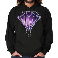 Cool Melting Dripping Diamond Graphic Hoodie