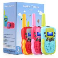 3 Pack Kids Walkie Talkies Gifts for Boys Age 3-10,OMWay Toys for Boys Girls 3 4 5 6 7 8 Year Old,Best Christmas Easter Birthday Gifts for Kids.
