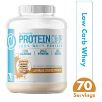 ProteinOne Whey Protein Powder by NutraOne – Non-GMO and Amino Acid Free Protein Powder (Caramel Cookie Crunch - 5 lbs.)