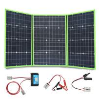 XINPUGUANG 150W 12V Portable Solar Charger Foldable Solar Panel Generator with Charge Controller for Battery Camping Travel RV Van Outdoor
