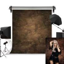 Kate 6.5x10ft/2m(W) x3m(H) Photography Backdrops Retro Solid Brown Background Photographers Photo Studio Props