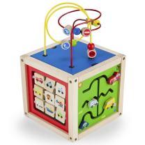 Imagination Generation Wooden Wonders 5-in-1 Deluxe Activity Cube