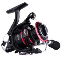 Goture Spinning Reel - Freshwater and Saltwater Fishing Reels Spinning Stainless Steel Bearings Smooth Powerful 5+1 Steel Ball Bearings Up to 17.7lbs of Smooth Drag Ice Fishing Reels